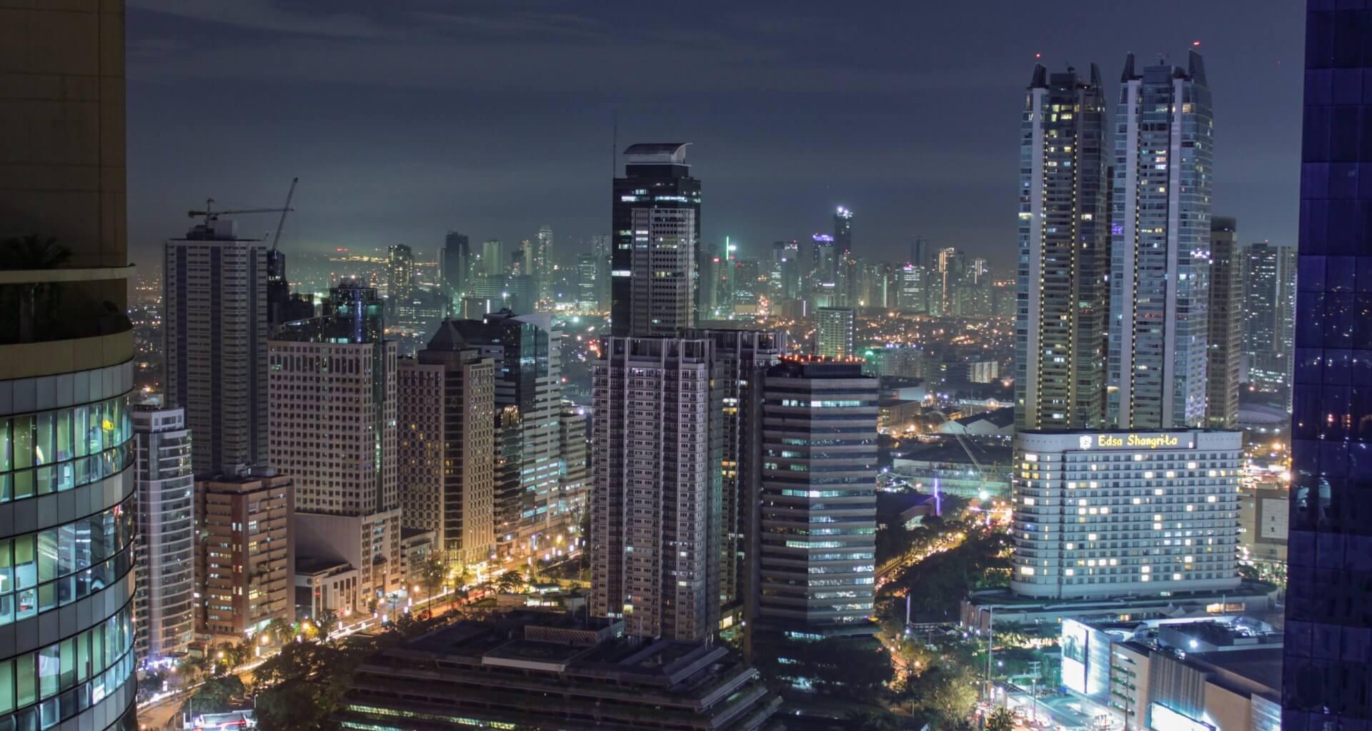 City Skyline of Manila, Philippines