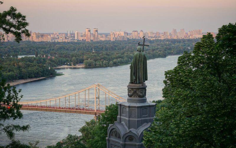 Kiev in Ukraine